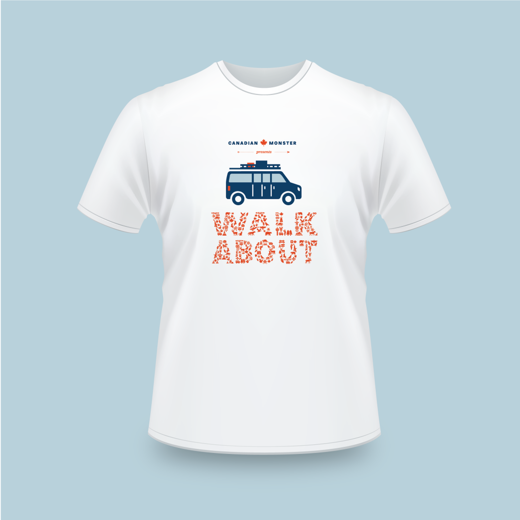 Walkabout t-shirts-unisex